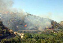 Bonito| Incendio a Cinquegrana, bruciati 3 ettari di bosco. Sul posto il Genio Civile