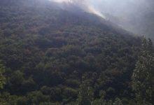 Incendi: elicotteri in azione a Montevergine e Montella