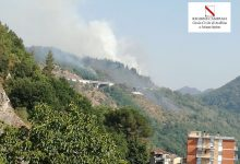 18 incendi in Irpinia. Paura sull'Ofantina tra Sorbo e Volturara