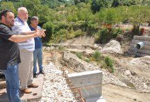 Campoli Monte Taburno| Ponte Jenga, ultime opere poi la riapertura dopo l'alluvione