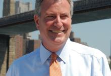 Sant'Agata de' Goti| Bill De Blasio di nuovo sindaco di New York