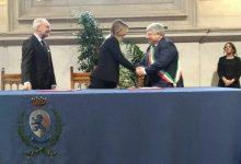Montesarchio| Damiano e Boschi firmano convenzione per riqualificazione aree urbane
