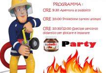 Chianche  Pompieropoli,l'evento educativo dei Vigili del Fuoco