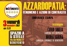 """Benevento  """"Azzardopatia"""": conferenza stampa con Sibilia e Sguera"""