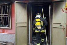 Boato e fiamme a Melito Irpino: arrivano i Vigili del Fuoco/FOTO