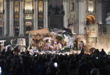 Il Presepe di Montevergine è arrivato dal Papa in Piazza San Pietro