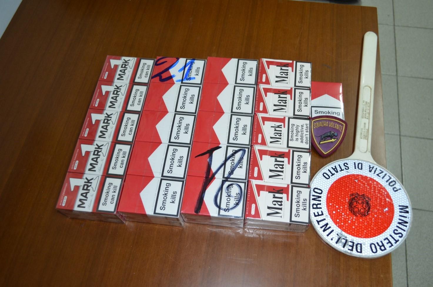 Benevento| Smerciava sigarette di contrabbando: denunciato 53enne napoletano