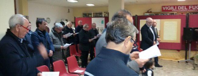 Benevento  I Vigili del Fuoco celebrano il precetto natalizio