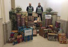 Benevento| Natale, la Finanza sequestra 300.000 fuochi pirotecnici