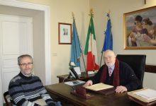 Benevento| Il Presidente Ricci riceve la visita del Dirigente Liccardo