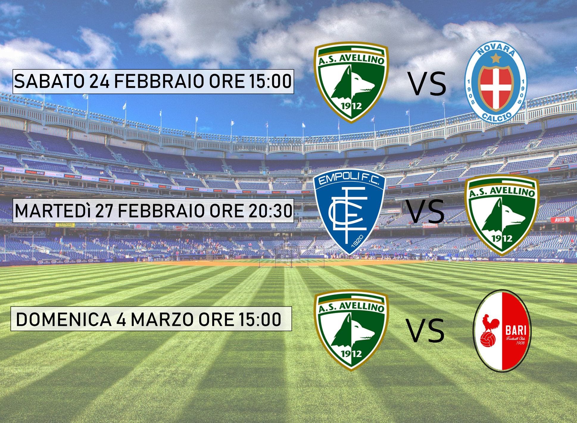 Calendario Avellino Calcio.Calendario Avellino Calcio Lab Tv