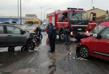 Benevento| Incidente sull'Appia, scontro tra due auto. Due feriti