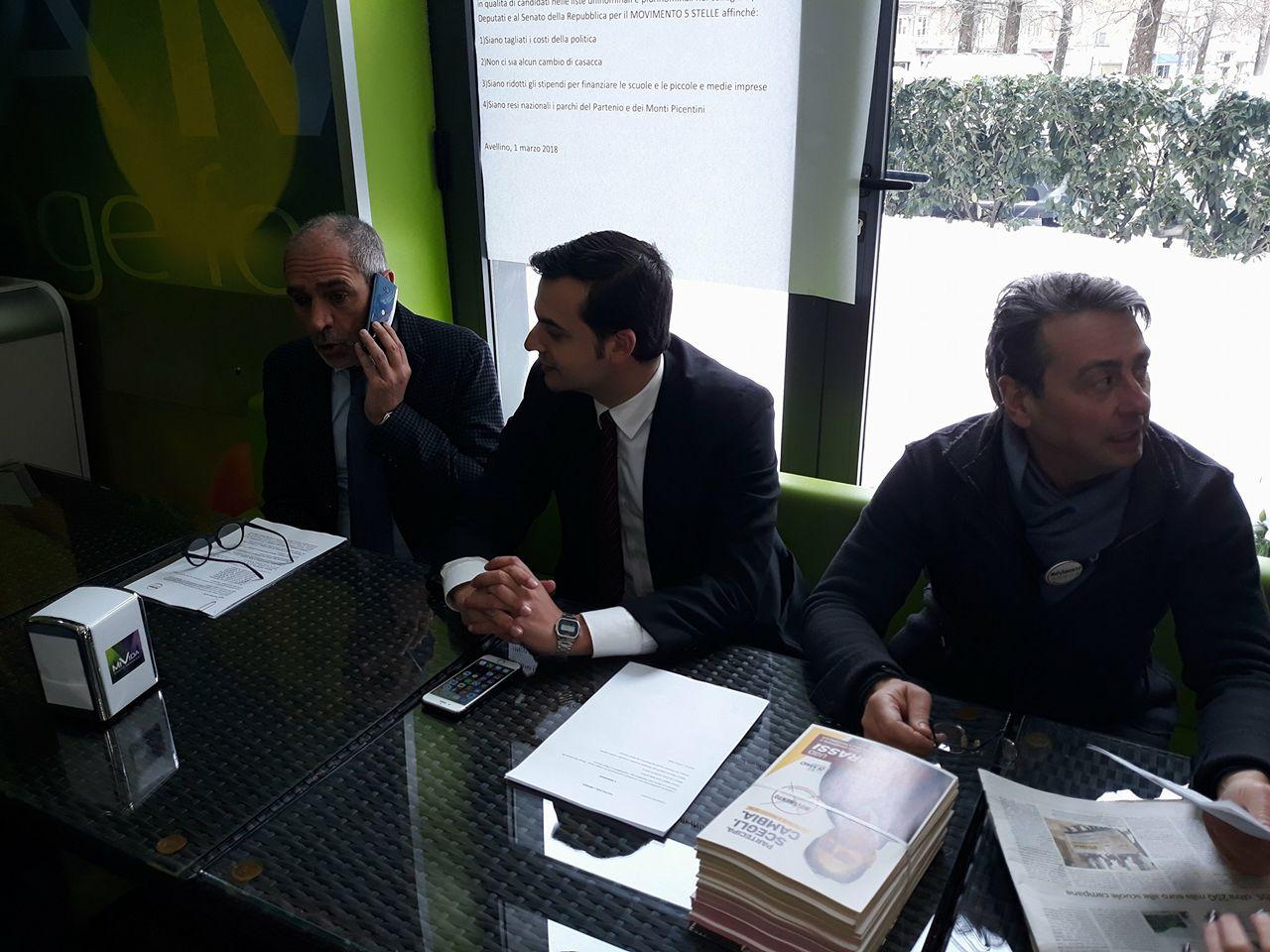 Avellino  Sibilia (M5S): sfida sulle idee, basta insulti