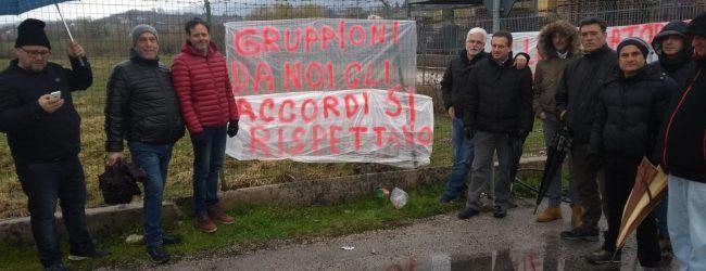 Nusco| Ex Almec: sit-in dei lavoratori contro il piano Sirpress