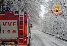 Neve e disagi in Alta Irpinia: viabilità a rischio