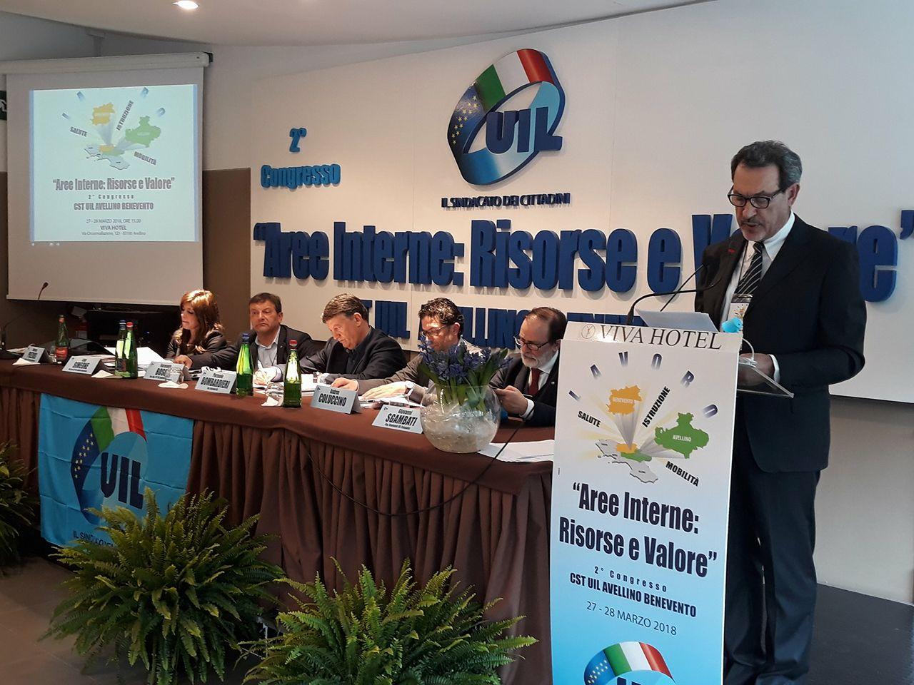 Avellino| Simeone (Uil) rilancia l'unità sindacale: politica autoreferenziale