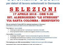 Lavorare in Germania si può, a Benevento le selezioni