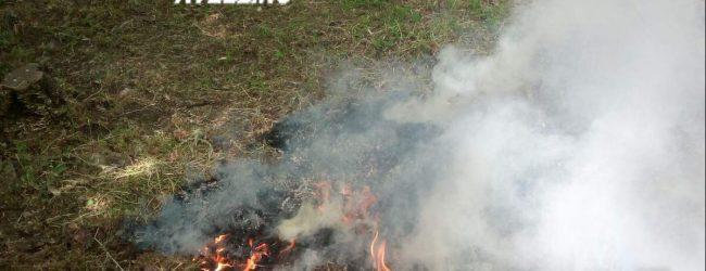 Serino| Brucia residui vegetali, denunciato un 70enne
