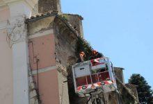 Benevento| Piovono pezzi di vetro, intervento dei Vigili del Fuoco