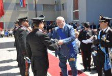 Benevento  Festa dei Carabinieri, Ricci consegna una onoreficenza