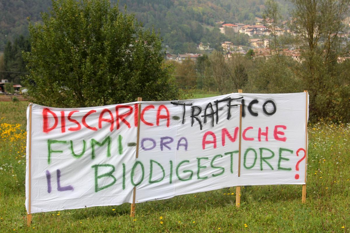 """Un """" No"""" al biodigestore a Chianche per un """"Si"""" allo sviluppo  sostenibile dell'Irpinia"""