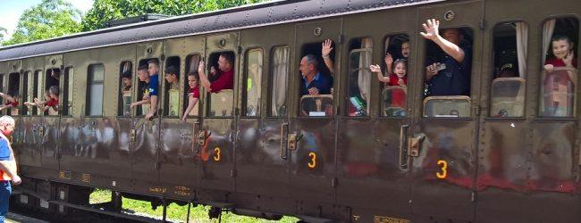Il treno storico arriva a Morcone