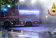 Avellino| Incendio,forse doloso,in azienda di stoccaggio in Irpinia