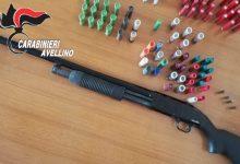 Baiano  Fucile a pompa con matricola abrasa nascosto in casa, in manette 55enne