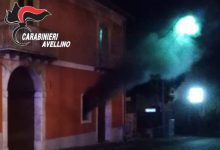 Ospedaletto D'Alpinolo  Fiamme in un bar, nessun ferito