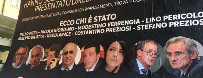 Avellino| Realizzati i manifesti contro i consiglieri oppositori, pronta la denuncia