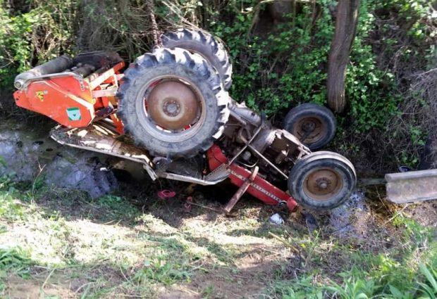 Trevico| Tragedia nei campi, 74enne di Vallesaccarda muore travolto dal suo trattore