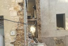 Fragneto Monforte| Crolla parete esterna di una abitazione disabitata