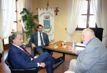 Claudio Ricci a Ceppaloni, incontro con il sindaco De Blasio