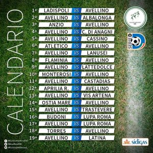 Calendario Avellino Calcio.Calendario Avellino Calcio 300 300 Lab Tv