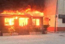 Maxi incendio in un ristorante di Airola