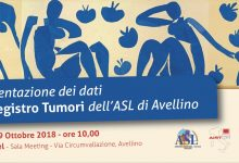 Avellino| Registro tumori dell'Asl, lunedì la presentazione dei dati per l'Irpinia