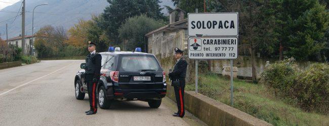 Solopaca  Minaccia la sua ex convivente, arrestato dai carabinieri per violenza privata
