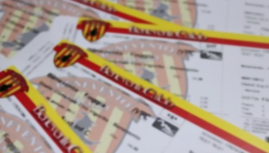Benevento-Livorno, domani parte la prevendita dei tagliandi