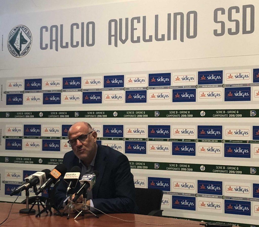 """Avellino, Graziani: """"Dagli under pretendo un atteggimento che sia degno della maglia che portano"""""""