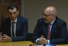 Avellino| Ciampi presenta il nuovo segretario e dice: il mio impegno fino alla fine