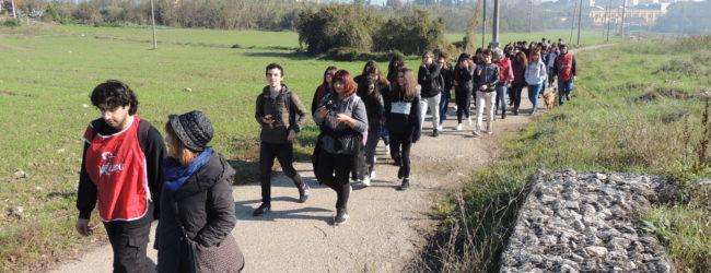 Benevento| Lipu: altre 100 persone visitano l'area fluviale e archeologica di Cellarulo