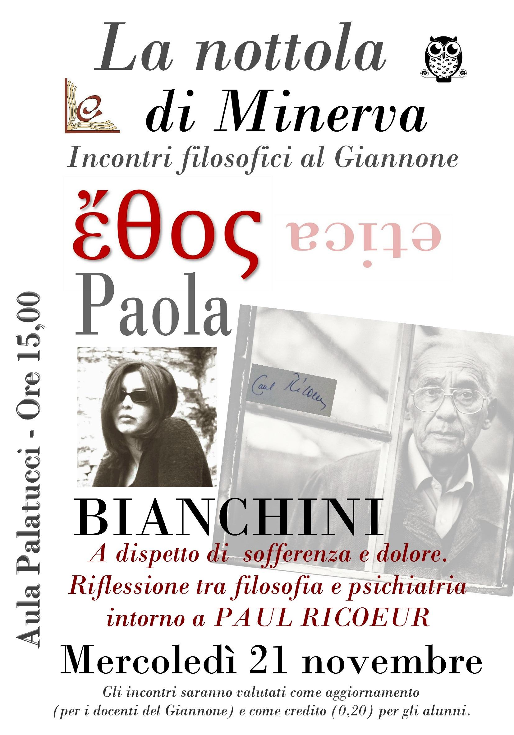 """Benevento  """"La nottola di Minerva""""incontri filosofici al Liceo Giannone"""