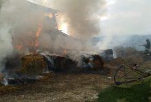 San Giorgio del Sannio| Fiamme in un capannone agricolo, tempestivo intervento dei Vigili del Fuoco