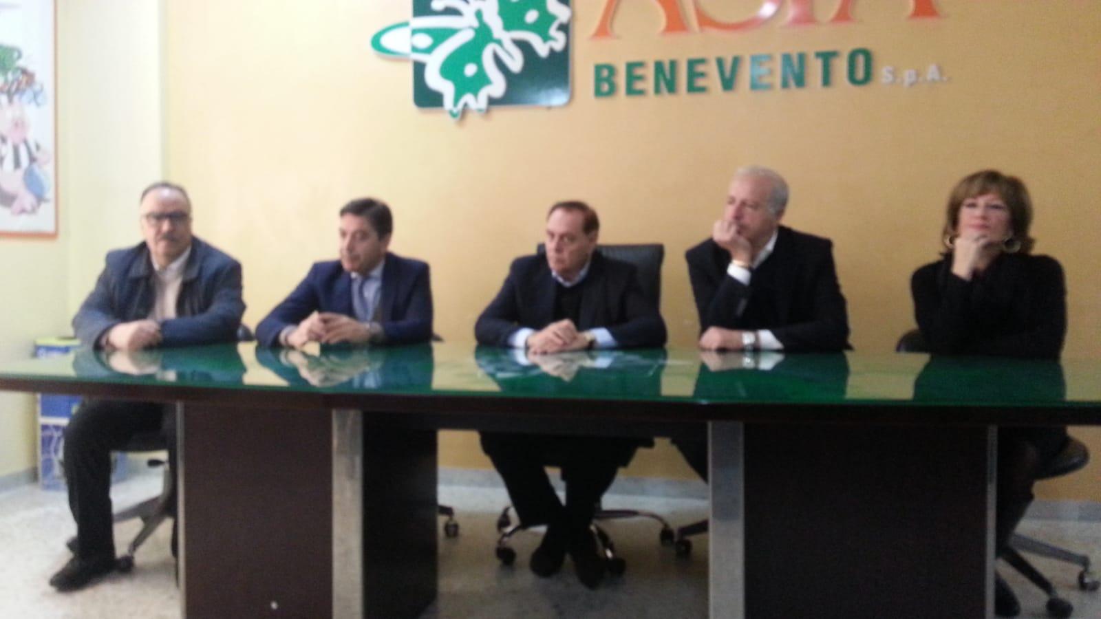 Benevento  Mastella all'Asia: bene su differenziata,via la plastica dagli uffici comunali