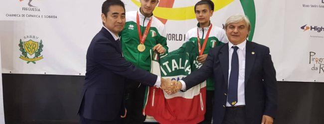 Campionati mondiali di karate, medaglie d'oro per gli irpini Donadio e Piccolo