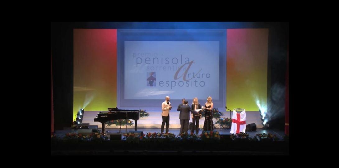 Sorrento- New York: un Premio con Luca Barbareschi e Danilo Rea