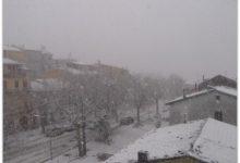 Fiocchi di neve nel Sannio e in Irpinia e prime gelate invernali
