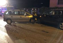 Benevento  Scontro tra due auto in contrada Epitaffio