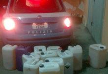 Telese Terme| Rubava gasolio dai veicoli trasportati. La Polizia ritrova centinaia di litri di carburante