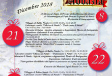 Mercogliano| Natale in Abbazia, dal 21 al 23 dicembre mercatini nel Palazzo di Loreto